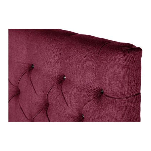 Ružová posteľ s matracom Stella Cadente Pluton Forme, 140x200cm
