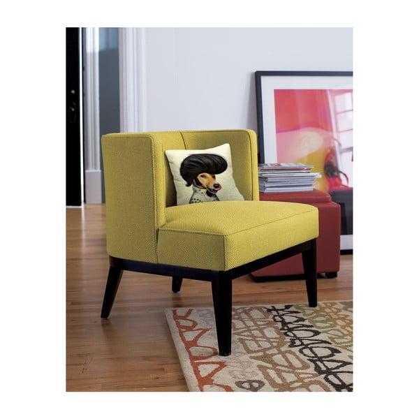 Obliečka na vankúš Elvis Dog, 45x45 cm