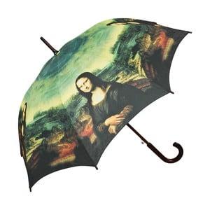 Dáždnik s rúčkou Von Lilienfeld Mona Lisa