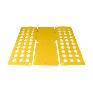 Žltá podložka na skladanie košieľ a tričiek JOCCA