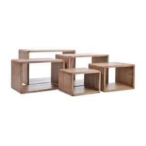 Sada 5 odkladacích stolíkov Sidetables