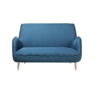 Modrá dvojmiestna pohovka Monobeli Shaun