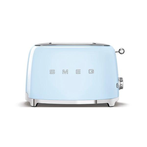 Svetlomodrý sendvičovač SMEG