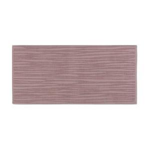 Ružový uterák Kela Lindano, 50x100cm