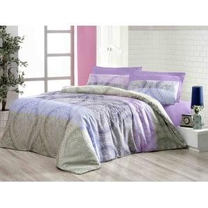 Obliečky s plachtou Newdamask Lilac 200x220 cm