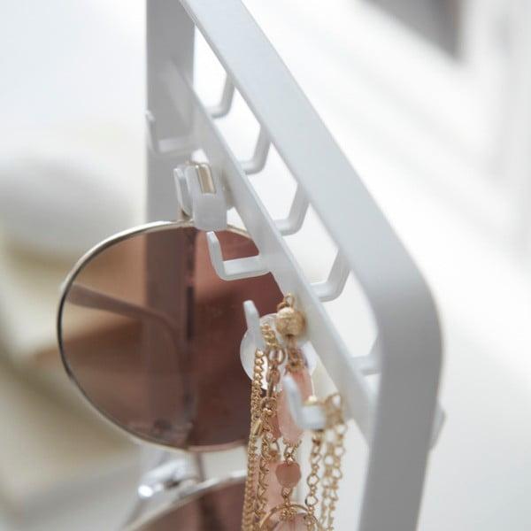 Biely stojan na šperky YAMAZAKI Tower