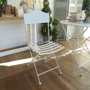 Skladacia stolička White Garden