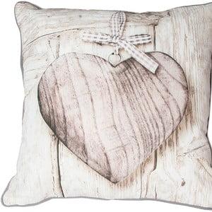 Vankúš Graham & Brown Wooden Heart,50x50cm