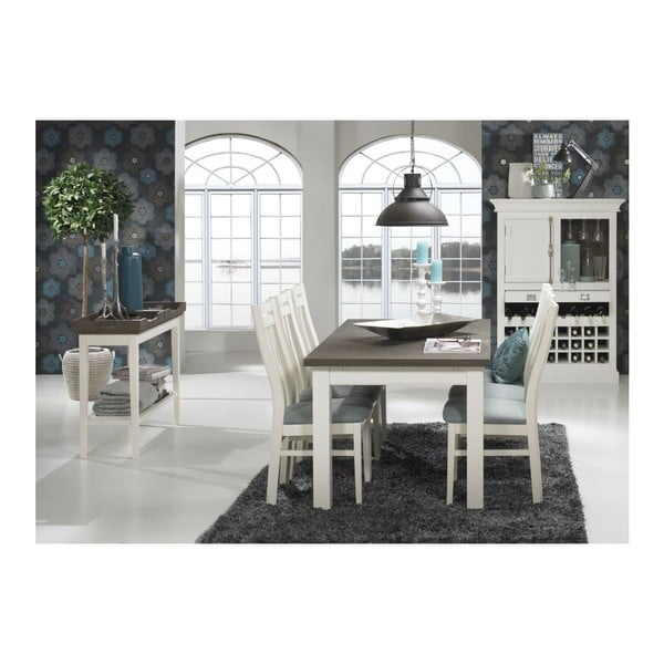 Jedálenský stôl Skagen, 200x76x100 cm