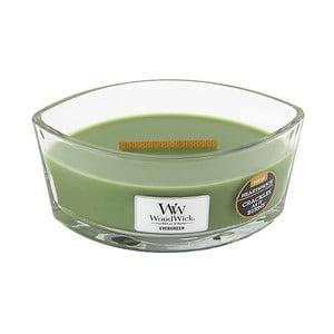 Sviečka s vôňou ihličia Woodwick, doba horenia 80 hodín
