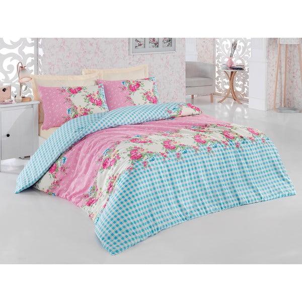 Ružové obliečky s plachtou Love Colors Elegant, 200 x 220 cm