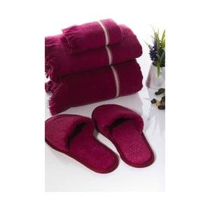 Sada 3 uterákov a papúč Pearly V3
