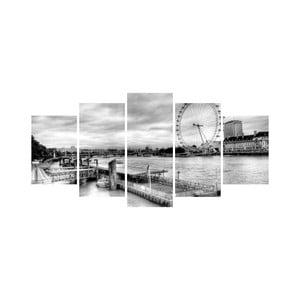 Viacdielny obraz Black&White no. 89, 100x50 cm