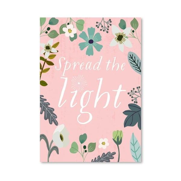 Plagát od Mia Charro - Spread The Light
