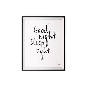Plagát Good Night, 40x50 cm