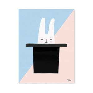 Plagát Michelle Carlslund Bunny Hat Trick, 50x70cm
