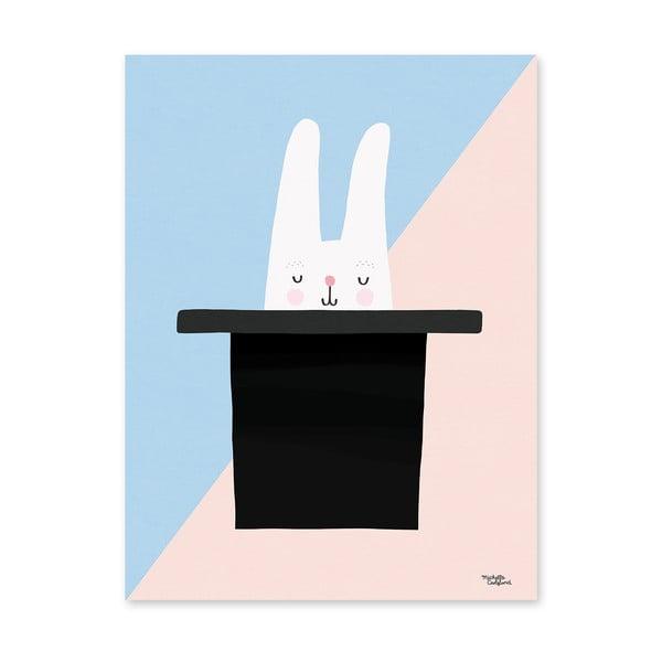 Plagát Michelle Carlslund Bunny Hat Trick, 30x40cm