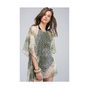 Zelená dámska tunika z čistej bavlny NW Evangelina