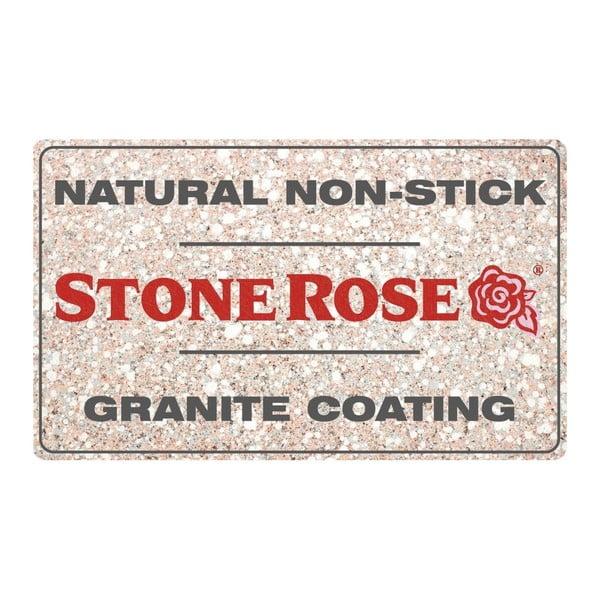 Grilovacia panvica Bisetti Stonerose, 28×28cm