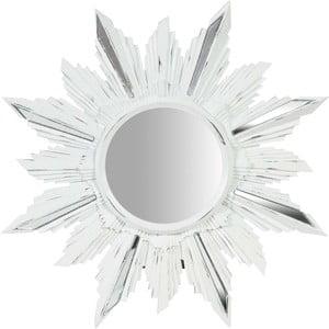 Biele nástenné zrkadlo Biscottini Petal