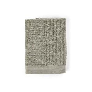 Sivozelený uterák zo 100% bavlny Zone Classic Eucalyptus, 50×70 cm