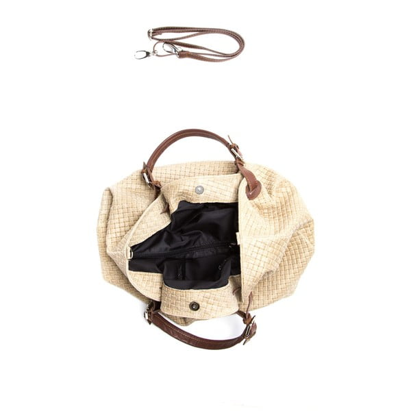 Nákupná kožená taška Fango 8019