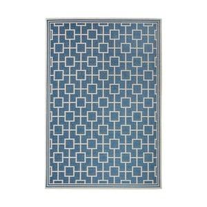 Koberec vhodný do exteriéru Botany 115x165 cm, modrý