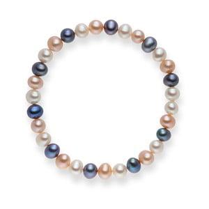 Perlový náramok Cecile Lilac