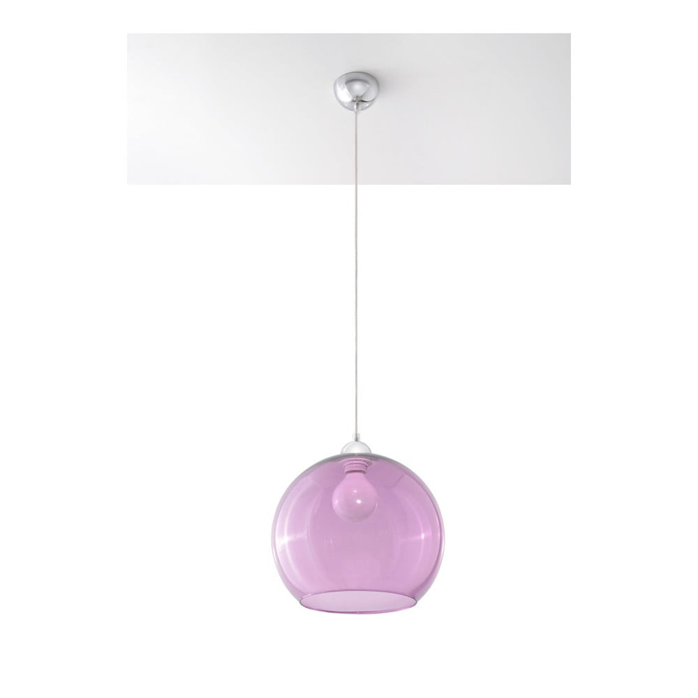 Fialové stropné svietidlo Nice Lamps Bilbao