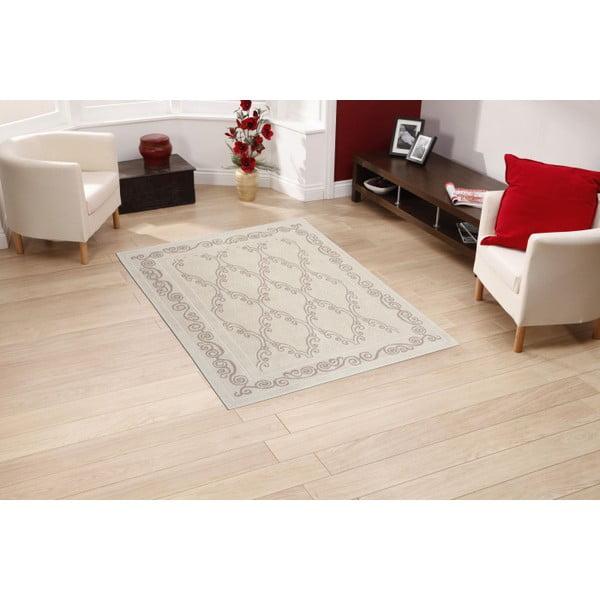 Krémový bavlnený koberec Floorist Gina, 160x230cm