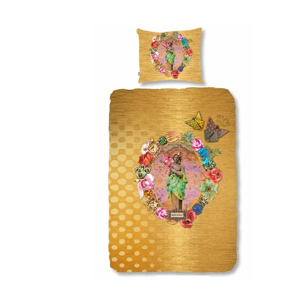 Obliečky Melli Mello Golden Multi, 140 x 200 cm