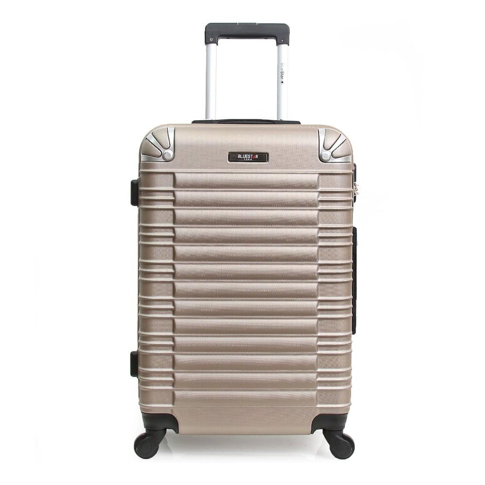 Béžový cestovný kufor na kolieskach Blue Star Lima, 60 l