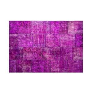 Vlnený koberec Allmode Violet, 150x80 cm