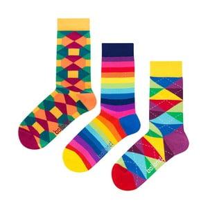 Darčeková sada ponožiek Ballonet Socks Pattern, veľkosť 41–46
