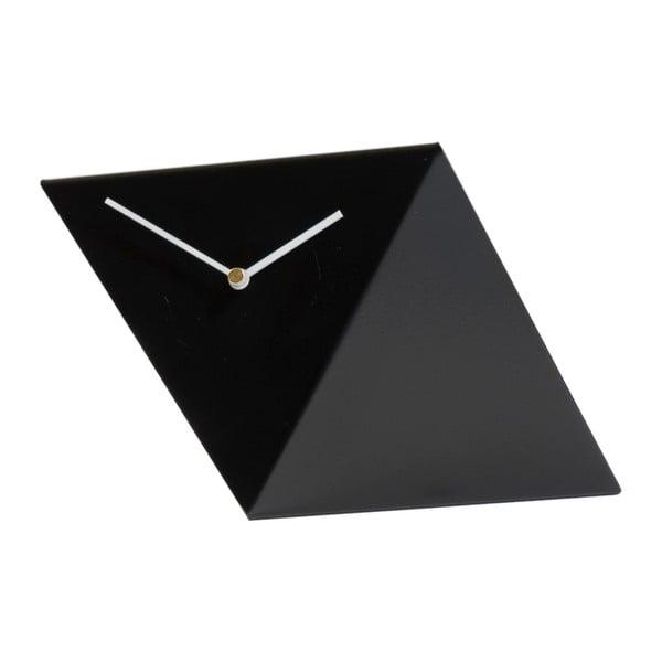 Stolné hodiny Clock 25 cm, čierne