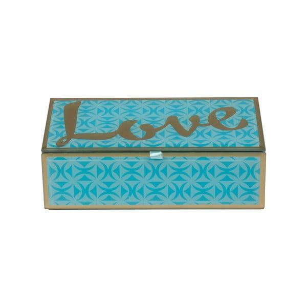 Šperkovnica Blue Love