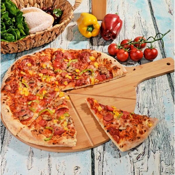 Bambusová doštička na pizzu Yum