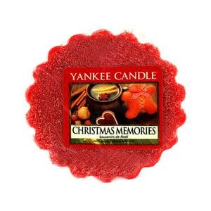 Vonný vosk do aromalampy Yankee Candle Vianočné Spomienky, doba trvania vône až 8 hodín