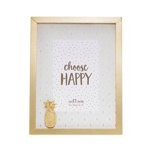 Rámik na fotky Sass & Belle Pineapple, 18 x 23 cm