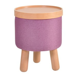Fialová stolička Garageeight Molde s odnímateľným vrchom, veľkosť S