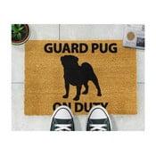 Rohožka Artsy Doormats Guard Pug, 40x60cm