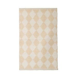 Bavlnený ručne tkaný koberec Pipsa Curry Diamond, 60×90 cm