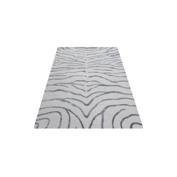 Koberec Zebra Silver, 153x244 cm