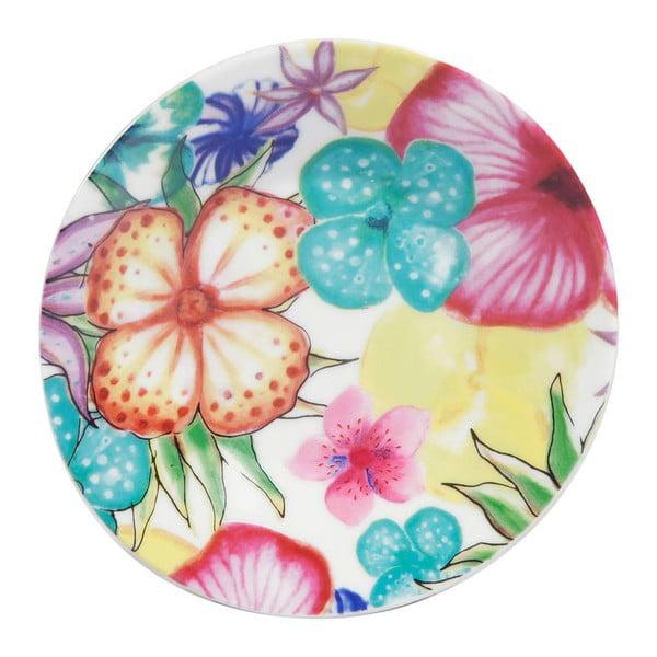 Sada 6 porcelánových hrnčekov Blooming