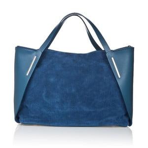Kožená kabelka Matt Blue