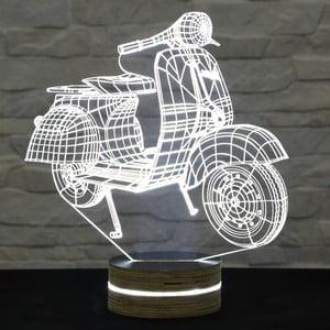 3D stolová lampa Motocycle