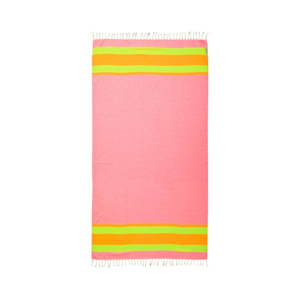 Hammam osuška Coast Pink, 105x175 cm