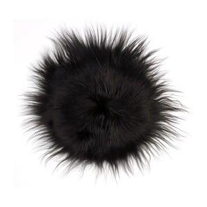 Prestieranie z ovčej kožušiny Iceland Black, 35 cm