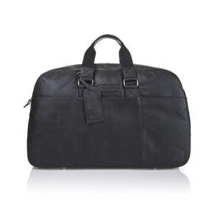 Pánska kožená taška Ferruccio Laconi 101 Black