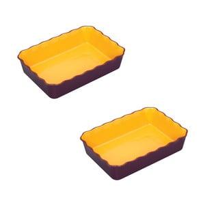 Sada 2 zapekacích misiek na burritos Mexican Flavour Purple